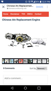 Looking for a place to buy a 110cc engine for a chinesse atv