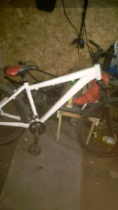 Norco bike 16 speedFrame,  No brake cables and no chain