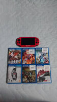 Playstation Vita Slim 8Gb + 6 Jeux