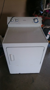 GE hot point propane dryer lpg