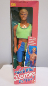 1989 Wet'n Wild Oh! Eau! Ken Barbie doll