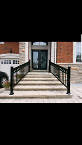Aluminum,Glass Railings,Balcony any design of your choice