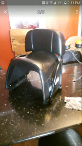 2up skidoo jack seat with hard ware