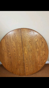 Beautiful oak dinning table set