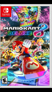 Mario Kart Deluxe for Switch (new)