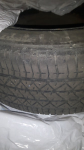 """Four 16"""" summer tires with rims"""