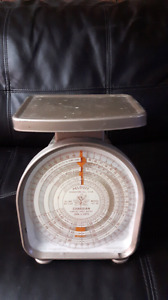 Antique Canadian Postal rate scale