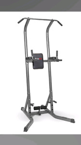 Workout pull up power tower home gym
