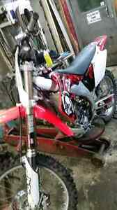 03 crf450r trade for mountain sled Williams Lake Cariboo Area image 1