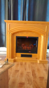 Electric Fireplace 47 wide x 44 High by 12 Deep