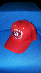 Montreal Canadiens Zephyr Snap Back Hockey Hat BRAND NEW