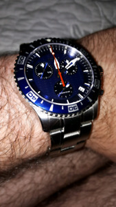 Mido ocean star iv chronograph swiss made baby omega watch