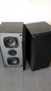 Kenwood Surround Bookshelf Speakers.