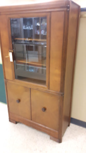 Vintage China Cabinet..Reduced to $145
