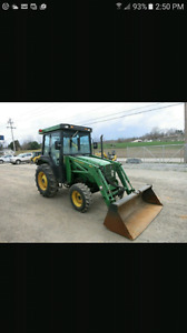 TRACTOR WITH LOADER NEEDED