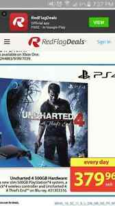 PS4 500 GB slim . BLACK . $300 obo