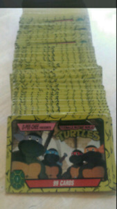 1989 Teenage Mutant Ninja Turtles Mirage Trading Cards