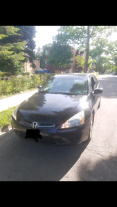 2005 honda accord v6 fully loaded exl