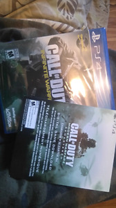 PS4 COD INFINTE WARFARE PLUS CODE