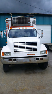 1991 International 4700 Reefer Truck