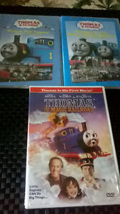 10.00 For A Set Of 3 Thomas DVD's