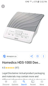 Homedics deep sound machine