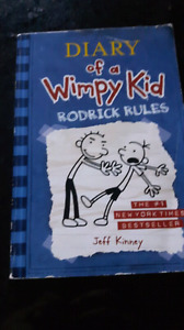 Softcover book: Rodrick Rules.