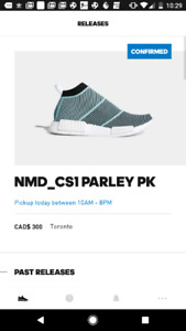 Adidas Parley NMD size 10