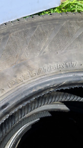 P 235/75R17 tires for sale