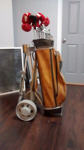 Golf Clubs, Bag and Caddy for sale St. John's Newfoundland image 1