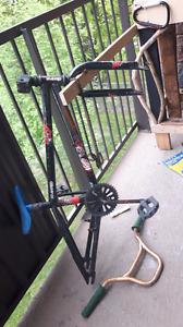Bmx frame and handlebars