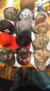 14 baseball caps