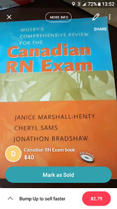 Canadian rn exam text book