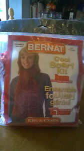 $5.00 Cool Scarf Kit by Bernat