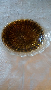Large Decorative Glass Bowl New Condition