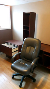 Office Desk , File Cabinet , Shelf Unit and Chair