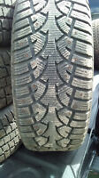 4 - 235/60/16 Studded Winter tires
