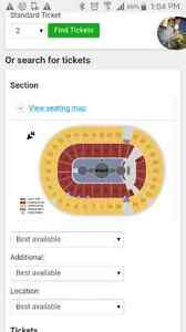 4 Keith Urban tickets - section C