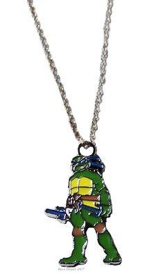 Teenage Mutant Ninja Turtles LEONARDO (Blue Mask) Character Pendant on 18