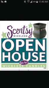 Scentsy Christmas open house