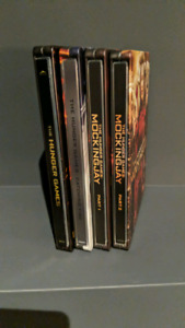Hunger Games 1 to 4 Steelcase on BluRay