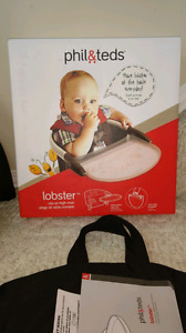 Phil & Ted's lobster clip on high chair