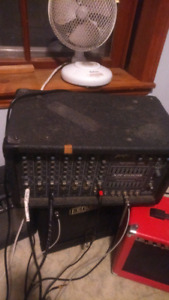 Peavey Speakers TLS 5X and Peavey XR 600G PA system