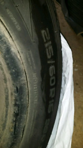 215/60R 16 Winter Tires