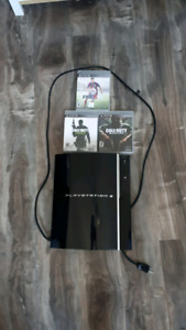 Sony PlayStation 3 + games