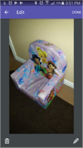 Disney Toddler chair and Back pack