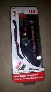 Wii team canada hockey stick for NHL slapshot