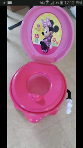 Minnie mouse potty and seat cover