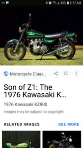 ISO 1976 kz900  spoke rims