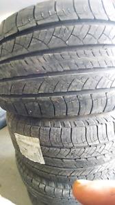 4 michelin 265/60/18 summer  tire